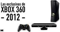 Las exclusivas de Xbox 360 en 2012
