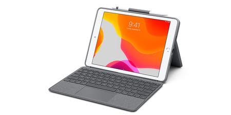 """Logitech anuncia su funda con teclado y trackpad para los iPad """"no Pro"""""""