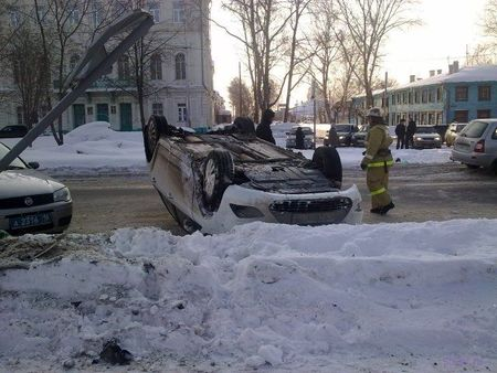 Ford Focus temerario en Rusia