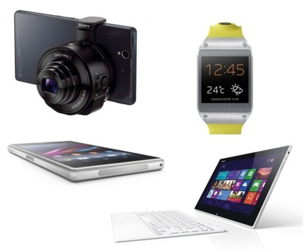 Lo mejor del día 1 de IFA 2013. un reloj, cámaras para móviles y grandes gadgets