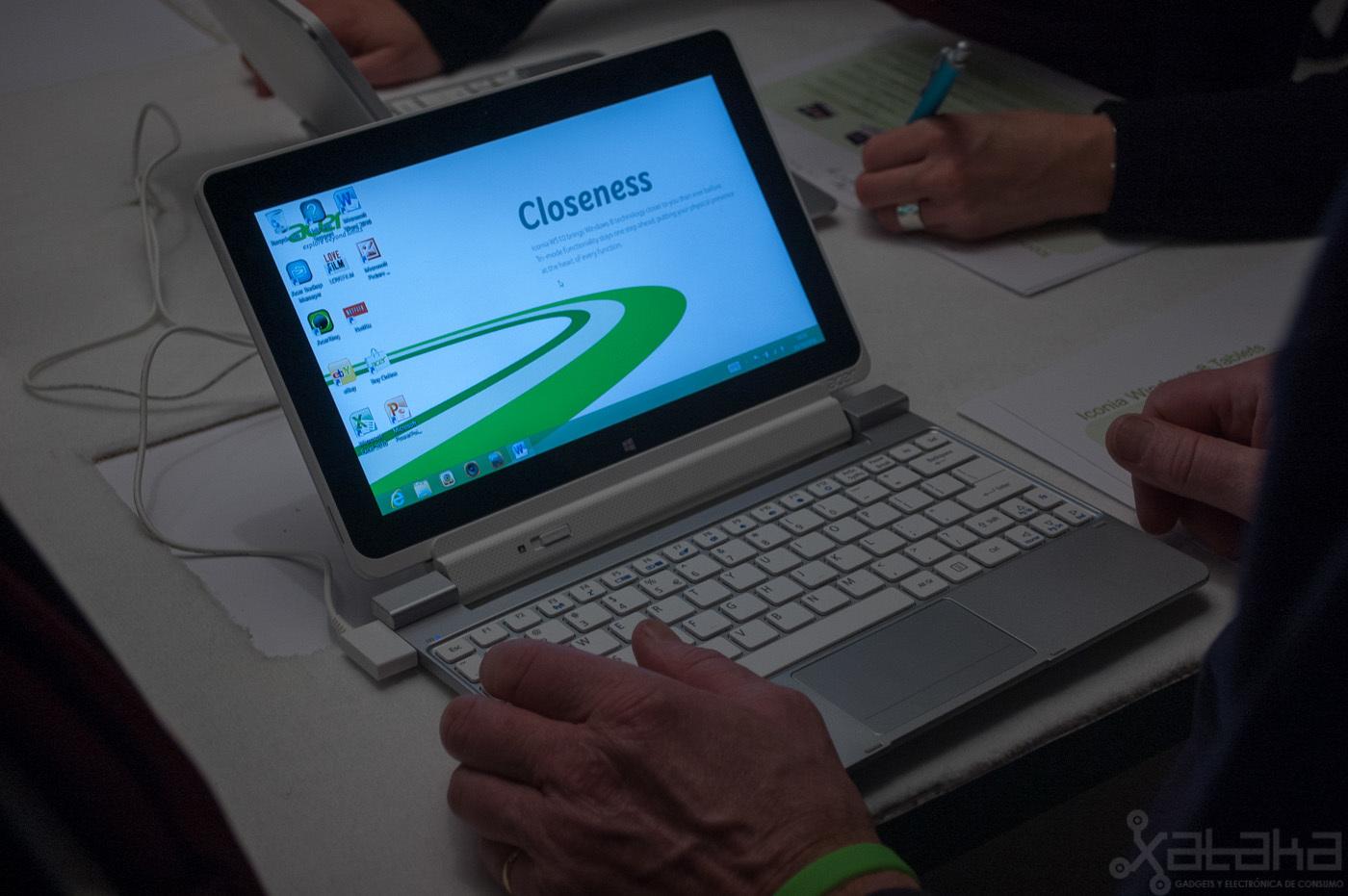 Foto de Acer Iconia W510, primeras impresiones (7/14)
