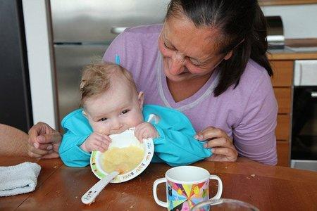 Recomendaciones para la elaboraci n del men infantil de 6 meses a 1 a o - Papillas para bebes de 6 meses ...