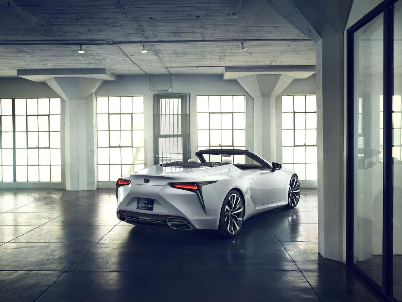 Foto de Lexus LC Convertible concept (2/12)