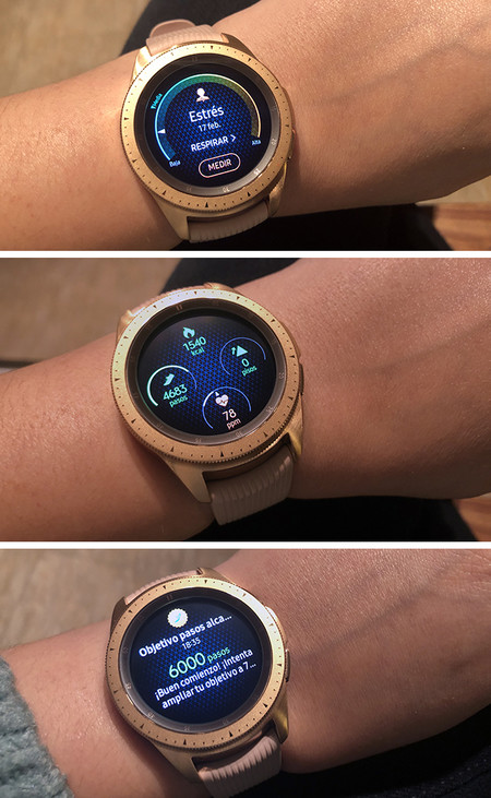 Reloj Samsung Galaxy Watch Analisis Experiencia Review Combinado