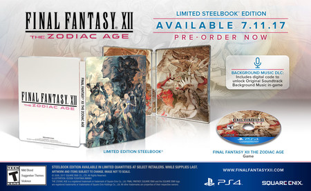 Final Fantasy Xii The Zodiac Age Edicion Limitada