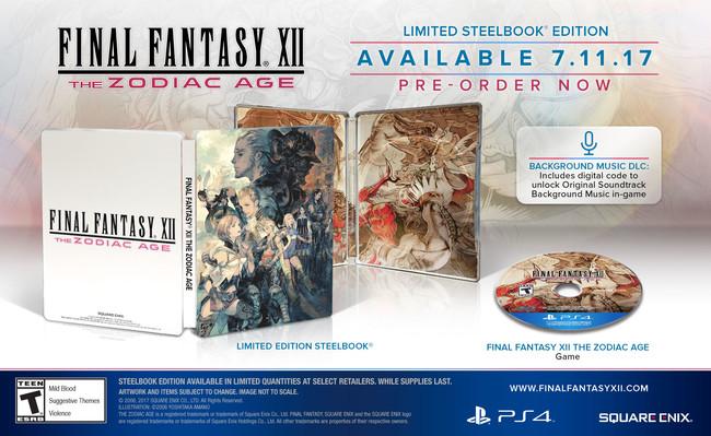Final Fantasy Xii The Zodiac Age Edicion Limitada