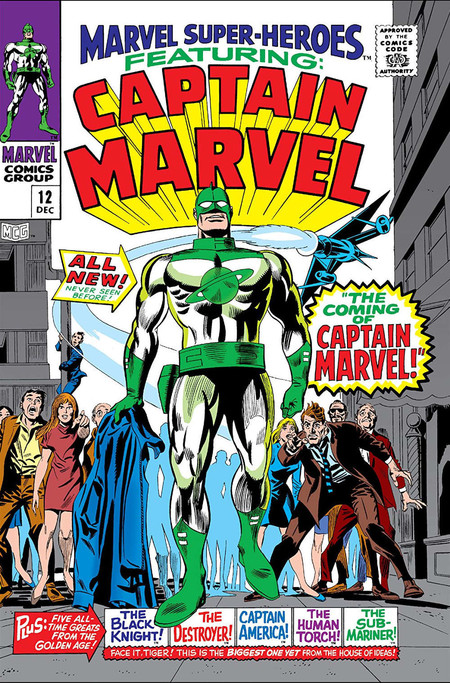 Marvel Super Heroes Vol 1 12