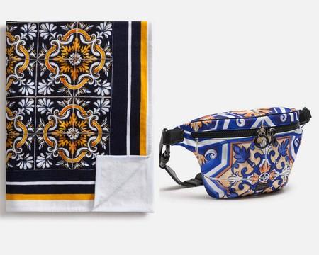 Los Vitrales Renacentistas Y La Ceramica Mayolica Inspiran La Colorida Coleccion De Playa De Dolce Gabbana 2
