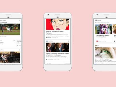 Google Now desaparecerá para dejar paso a un feed personalizado basado en nuestro historial