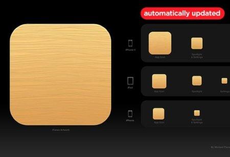 Plantillas para diseñar iconos de la App Store