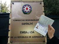 Embajada a Samarcanda. El visado de Azerbaiján.