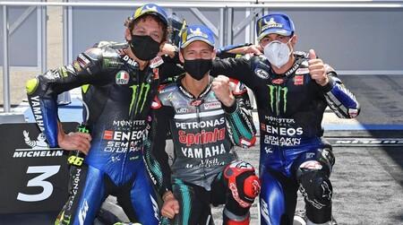 Quartararo Vinales Rossi Jerez Motogp 2020