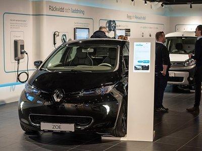 Renault ha elegido a Suecia para abrir su primer showroom de coches exclusivamente eléctricos