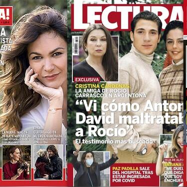 El testimonio de Cristina Cárdenas sobre Antonio David, la recaída de Mila Ximénez y la vuelta de Anabel Pantoja: Estas son las portadas de la semana del 31 de marzo