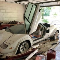 Un chico recupera un Lamborghini Countach y un Ferrari 308 que su abuela tenía olvidados en el garaje