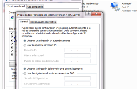 Configurar DNS en Windows