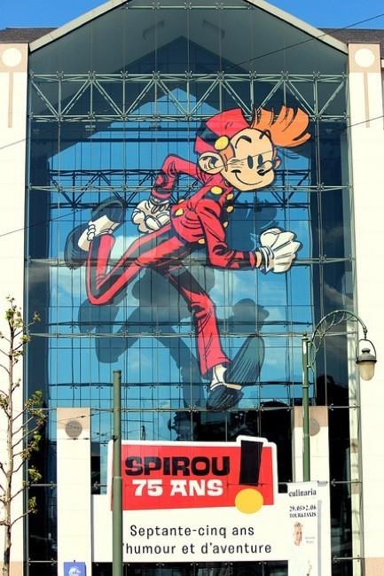 Spirou cumple 75 años y lo celebra con una gran exposición en Bruselas hasta noviembre 2013