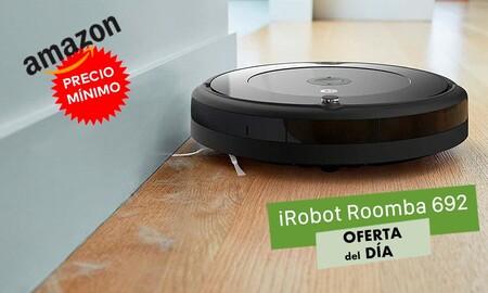 De nuevo a precio mínimo, el Roomba 692 sólo cuesta 179 euros hoy en Amazon