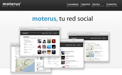 Moterus, red social para amantes de la moto