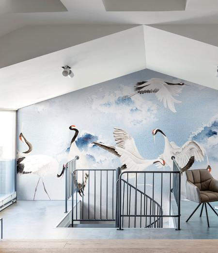 Dancing Cranes Amb