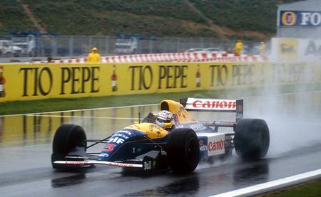Nigel Mansell Williams FW14B - GP España - 1992