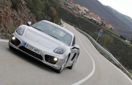 Porsche Cayman S 2013 frontal