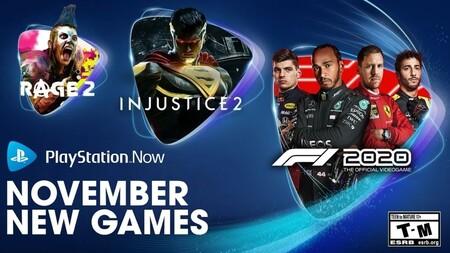 RAGE 2 e Injustice 2 entre los nuevos juegos que se unirán a PlayStation Now en noviembre