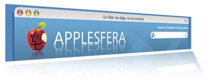 Las frases elegidas para la ventana de Applesfera ya son visibles