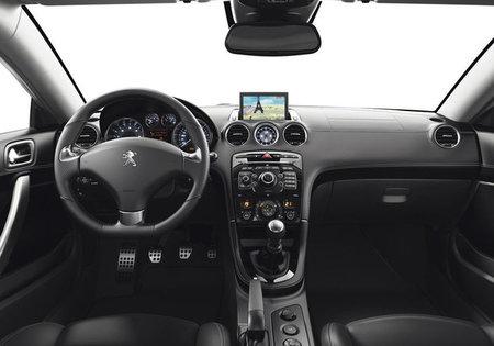 Interior del Peugeot RCZ 2013