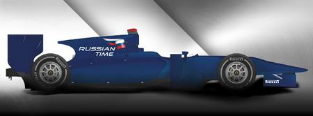 RUSSIAN TIME, nuevo equipo de la GP2