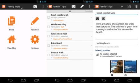 Blogger 2.0 para Android