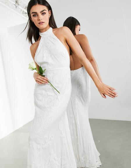 Los vestidos de novia de Asos son así de bonitos y económicos: diseños 'low cost' ideales para dar el sí quiero