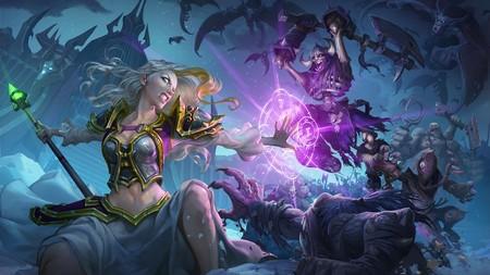El invierno llega a HearthStone con la expansión Caballeros del Trono Helado y para participar en ella nuestro héroe ¡debe morir!