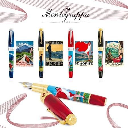 Montegrappa rinde tributo a St.Moritz con una edición limitada
