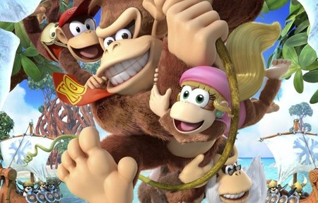 Y la sorpresa de Nintendo era... Cranky Kong en 'Donkey Kong Country: Tropical Freeze [VGX 2013]