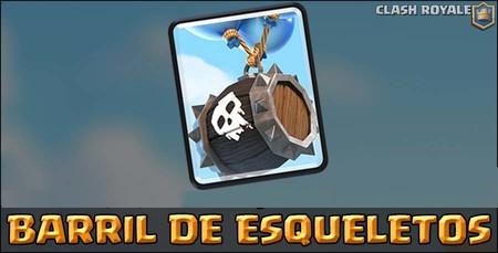Clash Royale: Descubre las mejores combinaciones para usar el Barril de Esqueletos