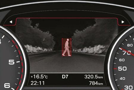 Visión nocturna de Audi