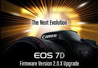 La Canon EOS 7D se actualiza con firmware para mejorar en las ráfagas, edición y compatibilidad GPS
