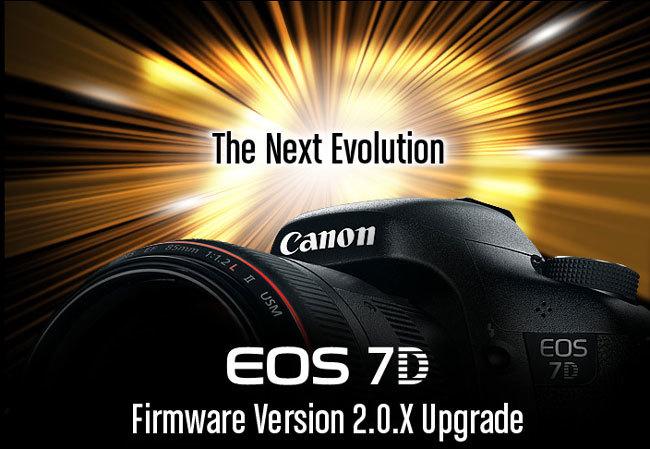 Canon EOS 7D firmware 2.0