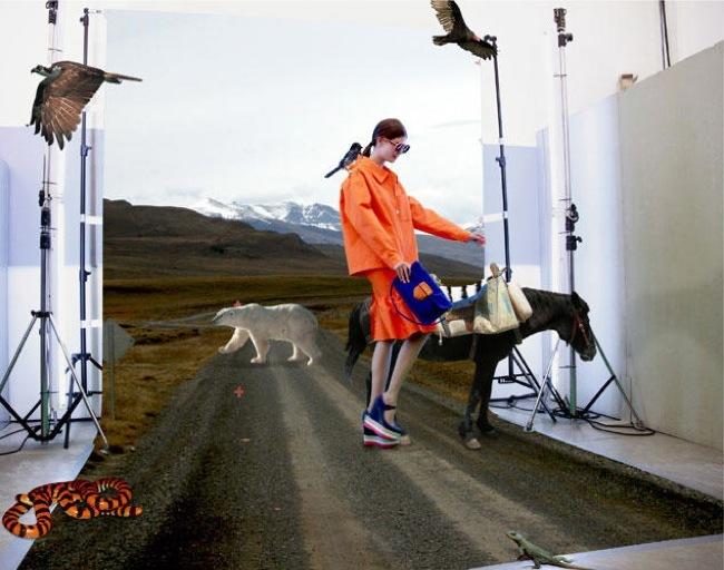 Foto de La fantasía de Prada junto a AMO en el lookbook Primavera-Verano 2011 (14/21)