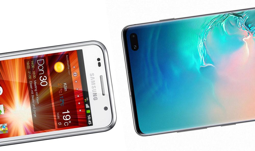 10 generaciones de Galaxy™ S: de este metodo ha evolucionado la grado adhesión Samsung® inclusive los Galaxy™ S10