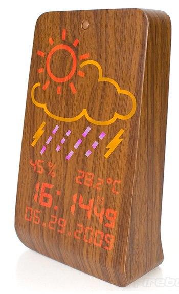 WoodStation, meteorología en un trozo de madera