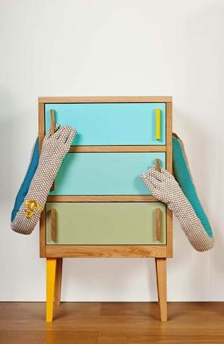 Lo nuevo de Stuart Melrose, muebles juveniles muy originales