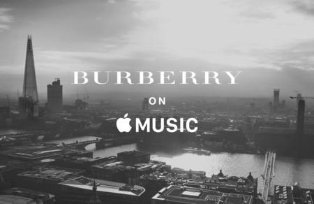 Burberry lanza canal de música en Apple para deleitarnos con talento British