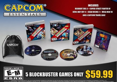 """Capcom nos presenta su primer lote de """"Capcom Essentials"""""""
