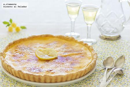 Tarta caramelizada de limón: receta para un postre fresco de contrastes