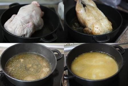 Pollo asado al jerez