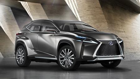 Salón del Automóvil de Frankfurt 2013 - Lexus LF-NX Crossover Concept