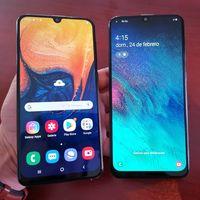 Samsung Galaxy A30 y Galaxy A50, precios y planes con AT&T