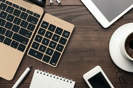 Este teclado numérico es el complemento ideal de tu MacBook